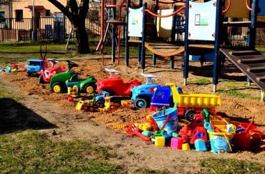 Dětské hřiště Strašnice